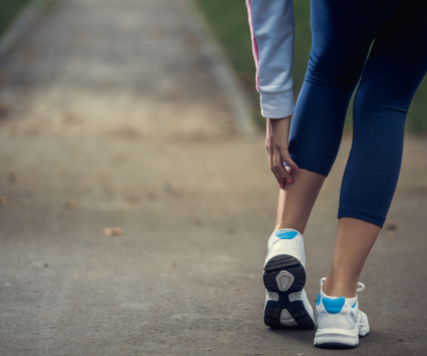Good, supportive shoes are essential for preventing low back pain.