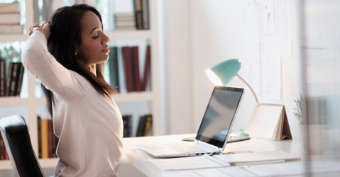 time spent sitting at your desk definitely affects your posture, your mental health, and your stress levels.
