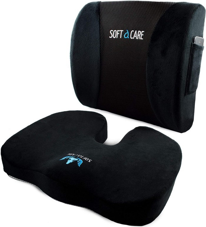 With so many people opting to travel by car these days, why not give the gift of travel comfort to someone with this comfy memory foam support pillow?