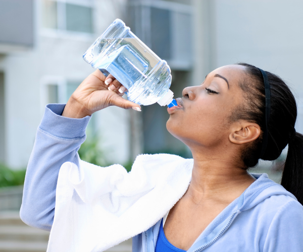 Dehydration can affect the discs in our spine, leading to low back pain.