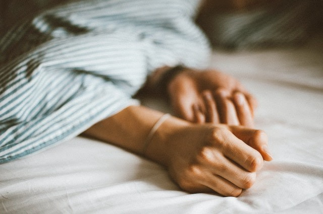 Sleep gives our bodies the chance to heal and restore itself.