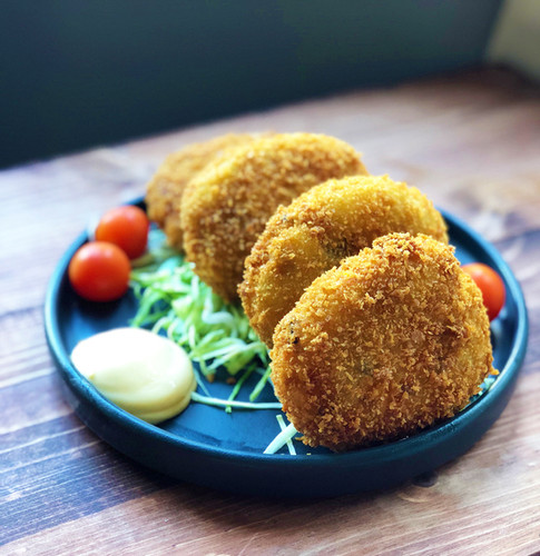 japanese curry croquettes