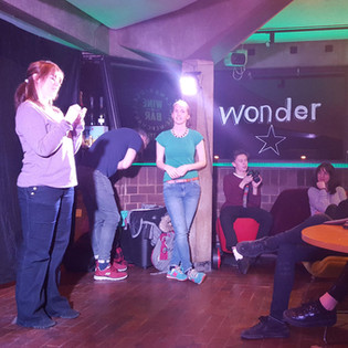 cambridge improv company at WONDER