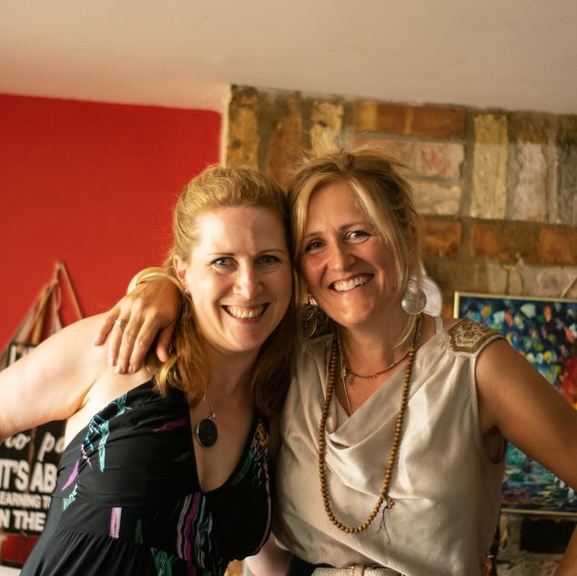 Suzie and Lisa at WONDER July 2018 #2