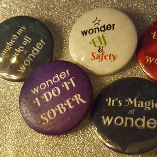 WONDER badges