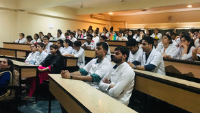 "Guest Lecture on ""Prospects of Dental Professionals in United Kingdom (U.K)"" on 3rd Sept 2019"