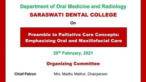 "Online CDE Program ""Preamble to Palliative Care Concepts: Emphasizing Oral and Maxillofacial Care"""