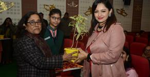 BSM School of Nursing organised Lamp Lighting Ceremony of Nursing students of Batch- 2019-20
