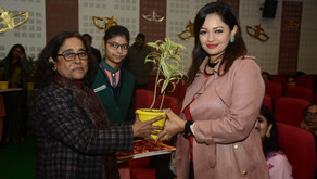 BSM School of Nursing organised Lamp Lighting Ceremony of Nursing students of Batch- 2019-20