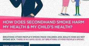 Secondhand smoke is very harmful for health