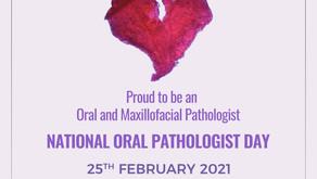 Celebrating National Oral Pathologist Day