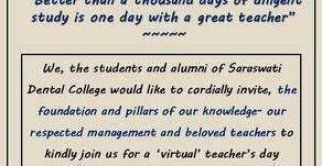 Teachers Day on 5th Sepetember 2020