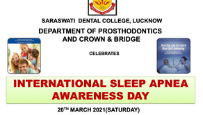 International Sleep Apnea Awareness Day