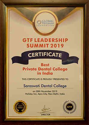SDC Best Dental Award