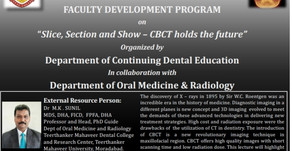 Slice Section & Show-CBT holds the future with Dr M.K. Sunil