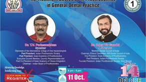Re-Treatment Strategies in Prosthodontics in General Dental Practice on 11th Oct 2020