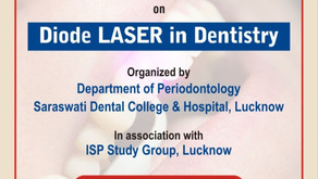 DIODE LASER IN DENTISTRY - Continuing Dental Education Program. Organized By- Dept of Periodontology