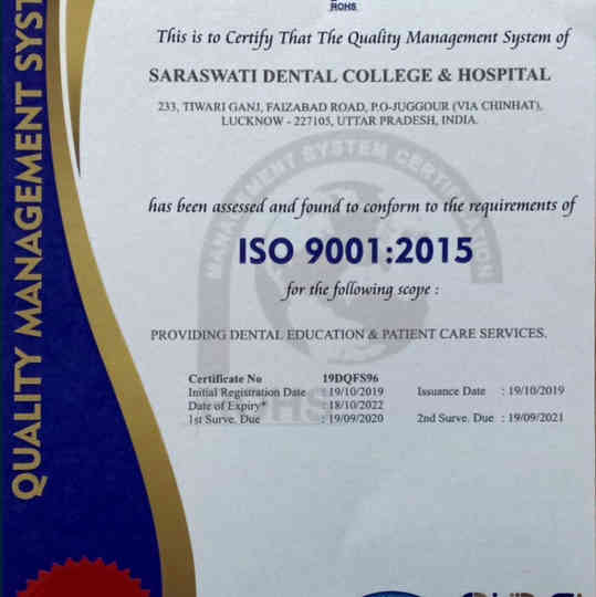 SDC ISO Certified 9001 _ 2015