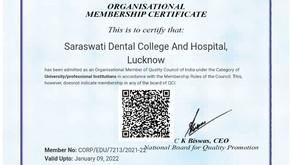 QCI Organisational Membership Certificate