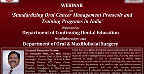 Standardising Oral Cancer Management Protocols & Training Programs in India