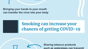 Do not let Tobacco to push you to COVID
