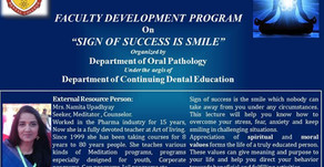 Sign of Success is Smile with Mrs Namita Upadhyaya on 16/09/2020