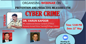 Webinar on Prevention and Proactive Measures For Cyber Crime
