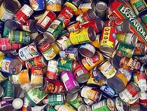 tins of food