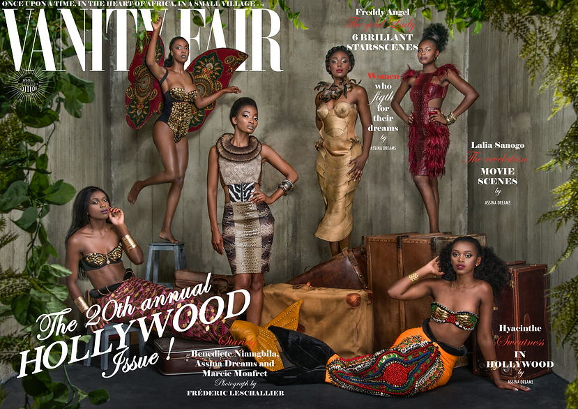Couverture Vanity Fair Novembre Hollywoo