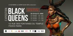 flyer Black queens paris karaba