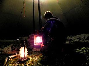 L'appel de la nature fondue tepee neige Chartreuse