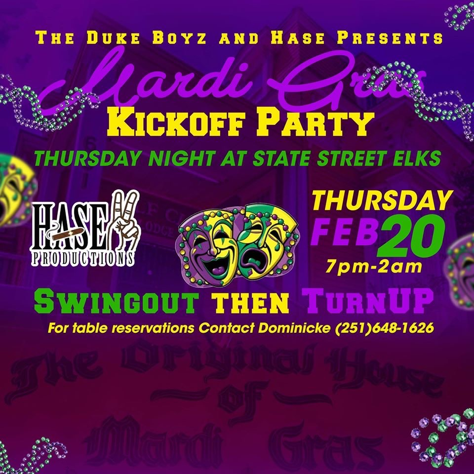 Mardi Gras Kickoff Party