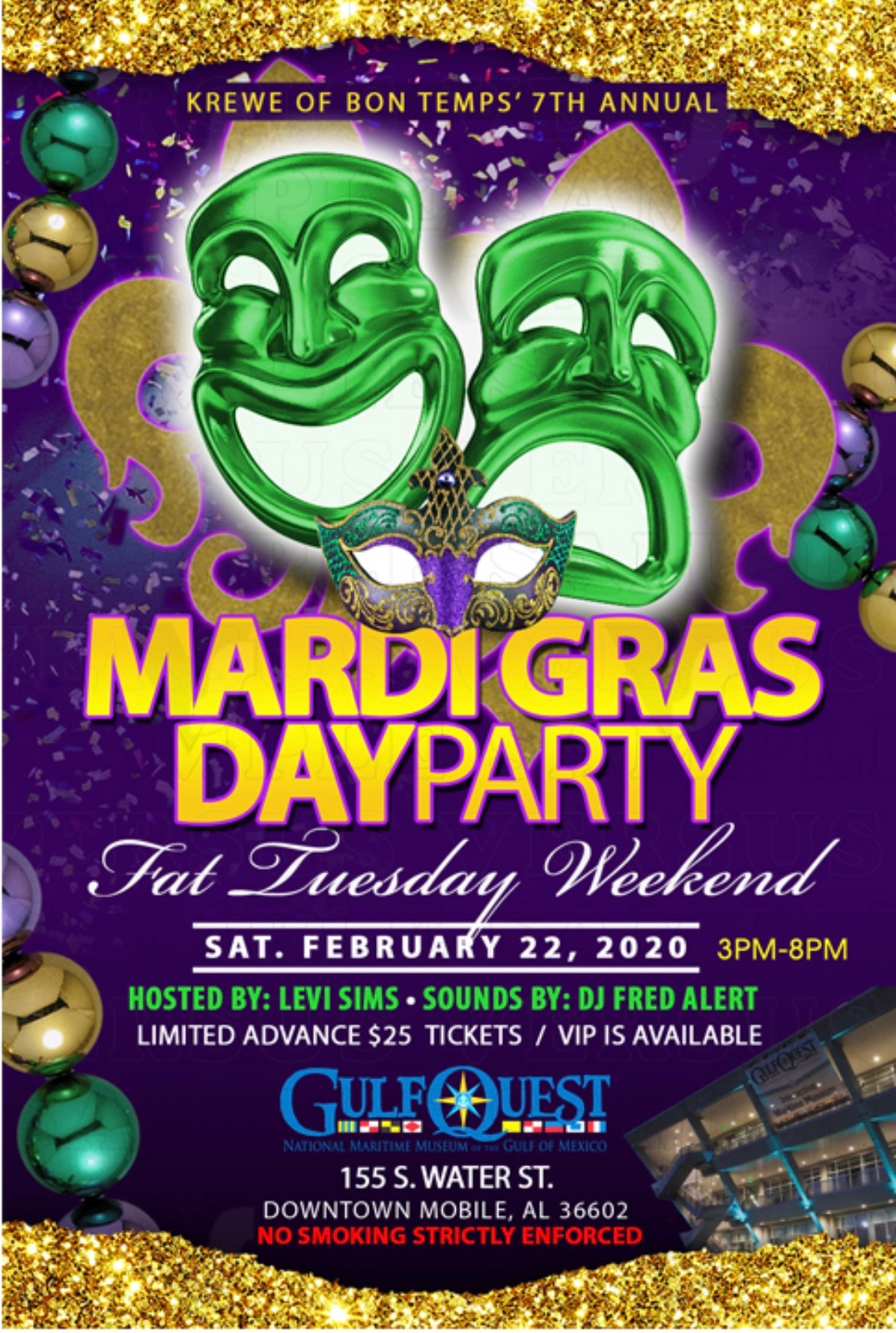 Mardi Gras Day Party