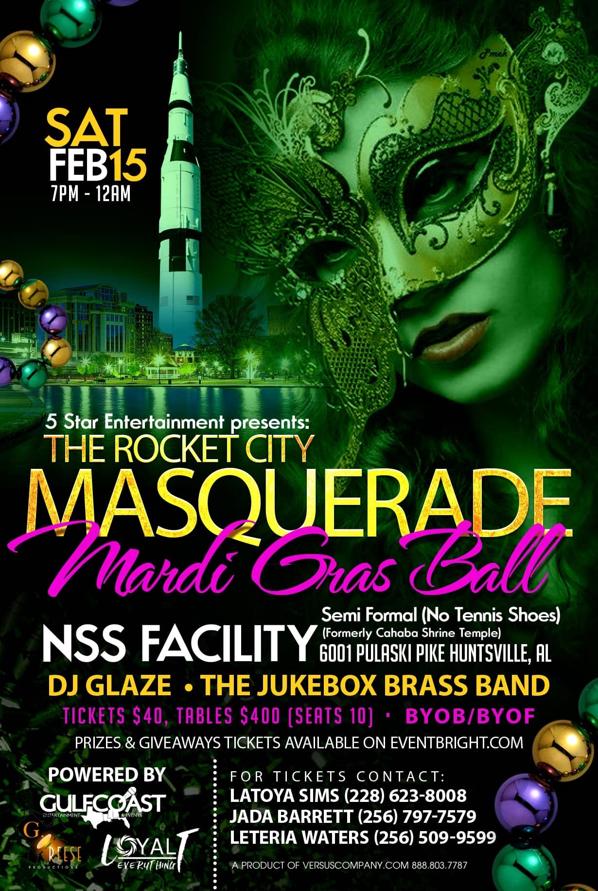 The Rocket City Masquerade Ball
