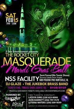 The Rocket City Masquerade Ball