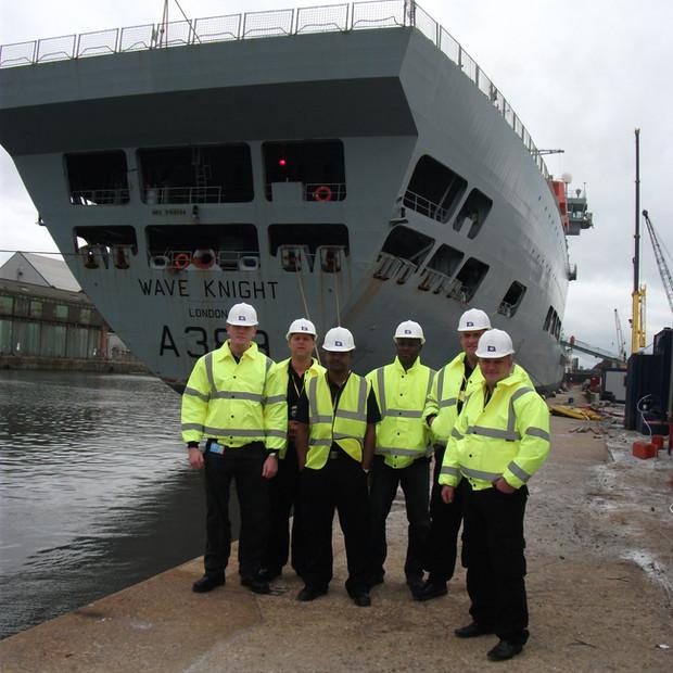 Security Guarding for Royal Fleet Auxillary Waveknight