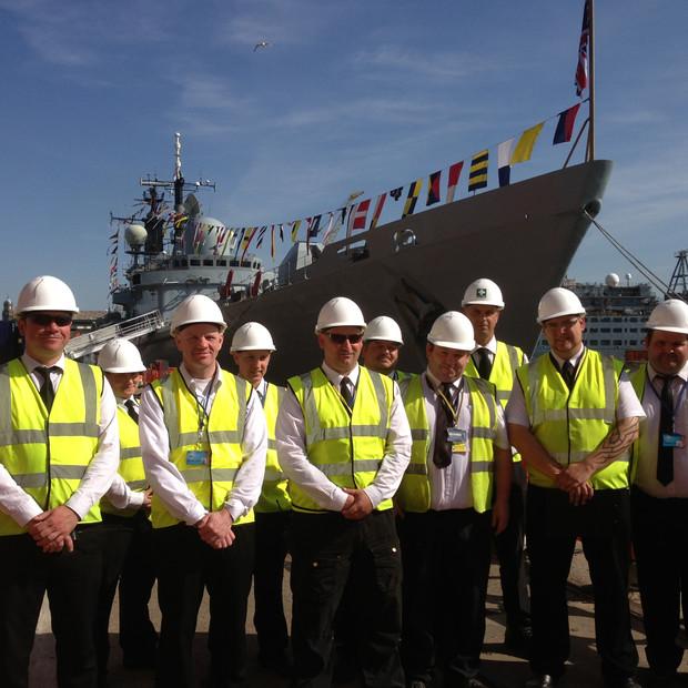 Security Guarding for HMS Edinburgh 70th Anniversary Battle the Atlantic Event