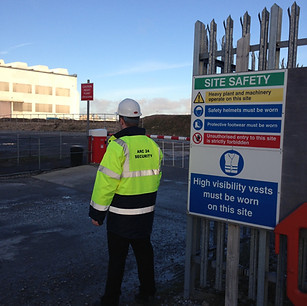 Security Guarding for Renewable Wind Energy Site Birkenhead