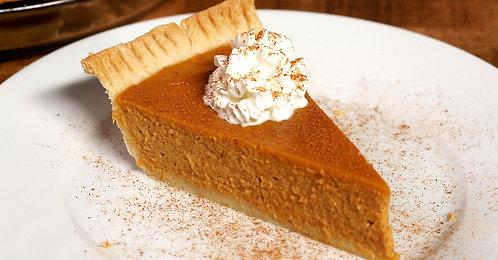Pumpkin Pie - unbaked & frozen