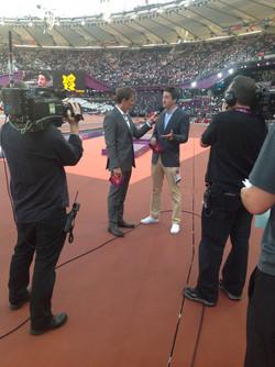 At the London Olympics