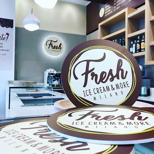 Fresh gelateria creatività e produzione interni
