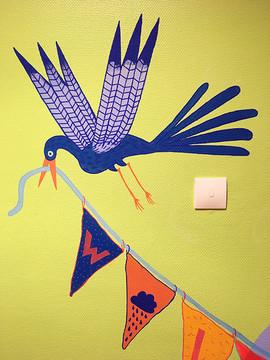 oiseau drapeaux