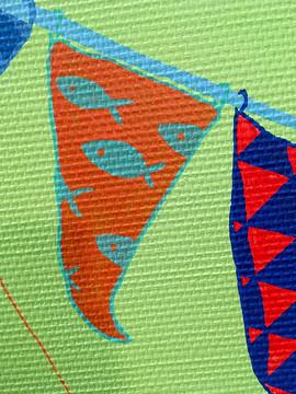 drapeau guirlande