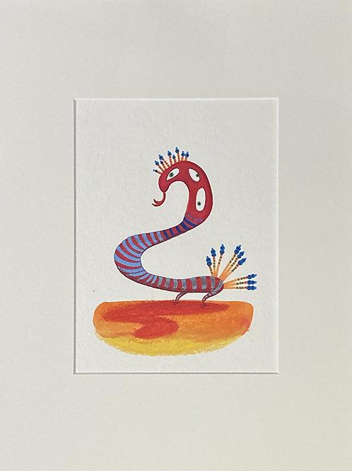 Serpent à plume