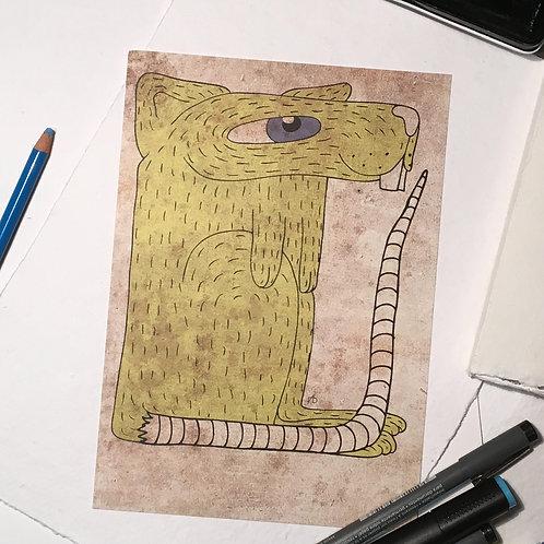 Rat jaune