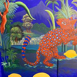 paysage et panthere