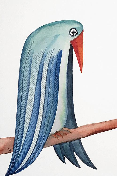 Oiseau dépressif