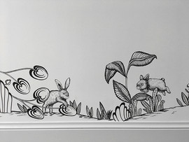 lapins sautent
