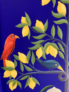 oiseau citronier