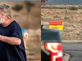 Alec Baldwin é visto transtornado e aos prantos após matar diretora em set de filmagem